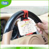 Universal 360 Rotating Mobile Car Mount Car Phone Holder Buckle Steering Wheel Car Holder
