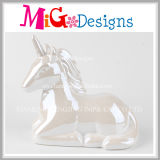Wholesale Custom Design Ceramic Unicorn Coin Bank
