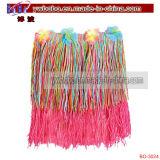 Party Items Promotional Flower Lei Rainbow Hula Skirt (BO-3024)