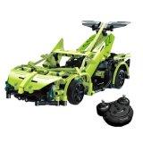 57351007W-2.4G Sport Racing Car Building Blocks Kits DIY RC Car