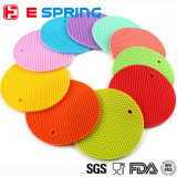 Heat-Resistant Colorful Honeycomb Thicken Silicone Tablemat