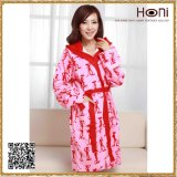 Newest Design Wholesale Bathrobe Design Ladies Pyjamas