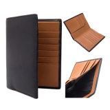High-End Mini Woman Man RFID PU Leather Wallet Purse RF Signal Shielding Blocker Ultra Thin Travel Genuine Leather Wallet