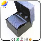 Business Polyester Tie Gift Men Necktie Set