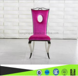 Modern Design Fabric Stainless Steel Dining Chair for Home Furniture (B8051)