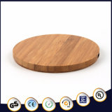 New Arrival Bamboo Qi Standard Wireless Charger