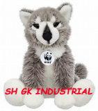 New Plush Animal Wolf