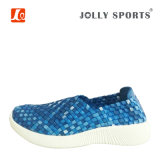 New Fashion Leisure Style Colorful Weave Shoes for Women Ladies