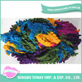 Light Appearance Weaving Wool Polyester Cotton Fancy Yarns -3