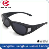 Competitive Price Polarized Fishing Sunglasses Matt Black Fit Over Driving Glasses