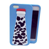 iPhone 6s Colorful 3D Customized Silicone Case Milk Bottom Cover