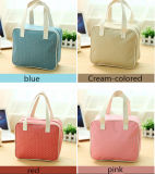Cute Light Color Oxford Cosmetic Bag, OEM Makeup Case for Ladies (FLYMB-132)