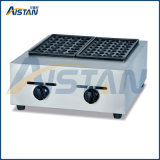 Gh767 Gas Fish Pellet Grill of Catering Equipment
