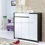Modern Style Wooden MDF Plywood Melamine Wardrobe Cabinet (UL-WR011)