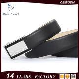 Fashion Men′s Formal Dress Beaded Genuine Black Leather Ratchet Belts