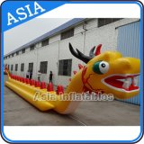 Customized Inflatable Water Games Dragon Boat, Flying Banana Boat Towables for 10 People
