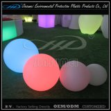 Outdoor LED Garden Ball Light with IP68 Plastic Shell