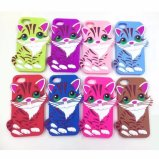 iPhone 7/7 Plus Colorful Cat 3D Customized Pattern Silicone Case