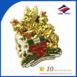 Custom 3D Gold Organization Badge National Souvenir Badge Army Badge