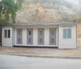 SGS Prefabricated Mobile Portable Container Toilet
