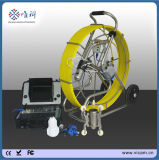 Pan and Tilt Drain Pipe Sewer Pipeline Inspection Camera Crawler Pipeline Robot with HD DVR 128g V8-3288PT-1