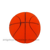 Rolling Basketball Shaped Toy in Plastic for Baby Kids