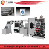 Six Colors Plastic Cup Offset Printing Machine
