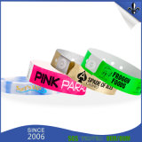 OEM Polyester Plastic Tyvek Wristband for Promotion Activity