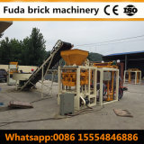 Semi-Auto Concrete Cement Hollow Brick Forming Machine Qt4-24b