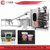 Flexo 4-6 Color Offset Cup Printing Machine with PP PS Pet EPS Material