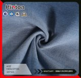 100%Cotton Plain Denim Fabric for Lady Garment 4oz