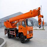Hydraulic Truck Crane with Telescopic Boom