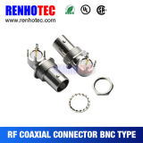 High Frequency Range BNC Female Right Angle Board Mount Connector