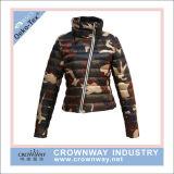 Fashion Design Ladies Outdoor Waterproof Down Jacket