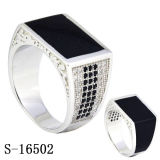 Man Ring New Model 925 Silver Fashion Jewelry CZ Men Rings