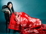 100% Wool Jacquard Blankets/ Big Size Blankets/Winter Blankets