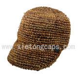 Raffia Straw Baseball Cap (JRS046)