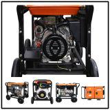 5kw Air-Cooled Diesel Generator Set with Big Wheels