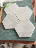 Premium Carrara White Marble Mosaics Tile