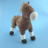 Plush Toy Brown Horse Stuffed Horse Toy