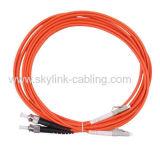 LC/PC-ST/PC Sm Dx Patch Cord- Fiber Jumper- Fiber Pigtail