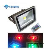 30W RGB COB Projector / lâmpada de poupança de energia LED
