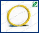 Fiber Optic Jumper Patch Cord Single Mold