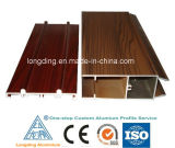 Wood Finished Aluminium Profiles for Windows and Doors