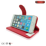Mobile Phone Case iPhone 7 Case Red Wallet Cellphone Case