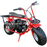 Gas Mini Bike Scooter Dirt Motorcycle 196 Cc Drum Brakes 32 Mph with EPA and Ce