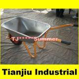85L Galvanized Steel Garden Wheelbarrow Wb5009