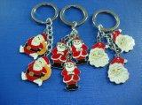 Soft Enamel Epoxy-Dripping Keychain for Christmas Promotional (GZHY-YSK-0001)