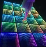 50X50cm Portable Mirror 3D Infinity LED Twinkle Dance Floor
