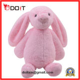 Easter Stuffed Fluffy Holiday Kids Pink Bunny Toy